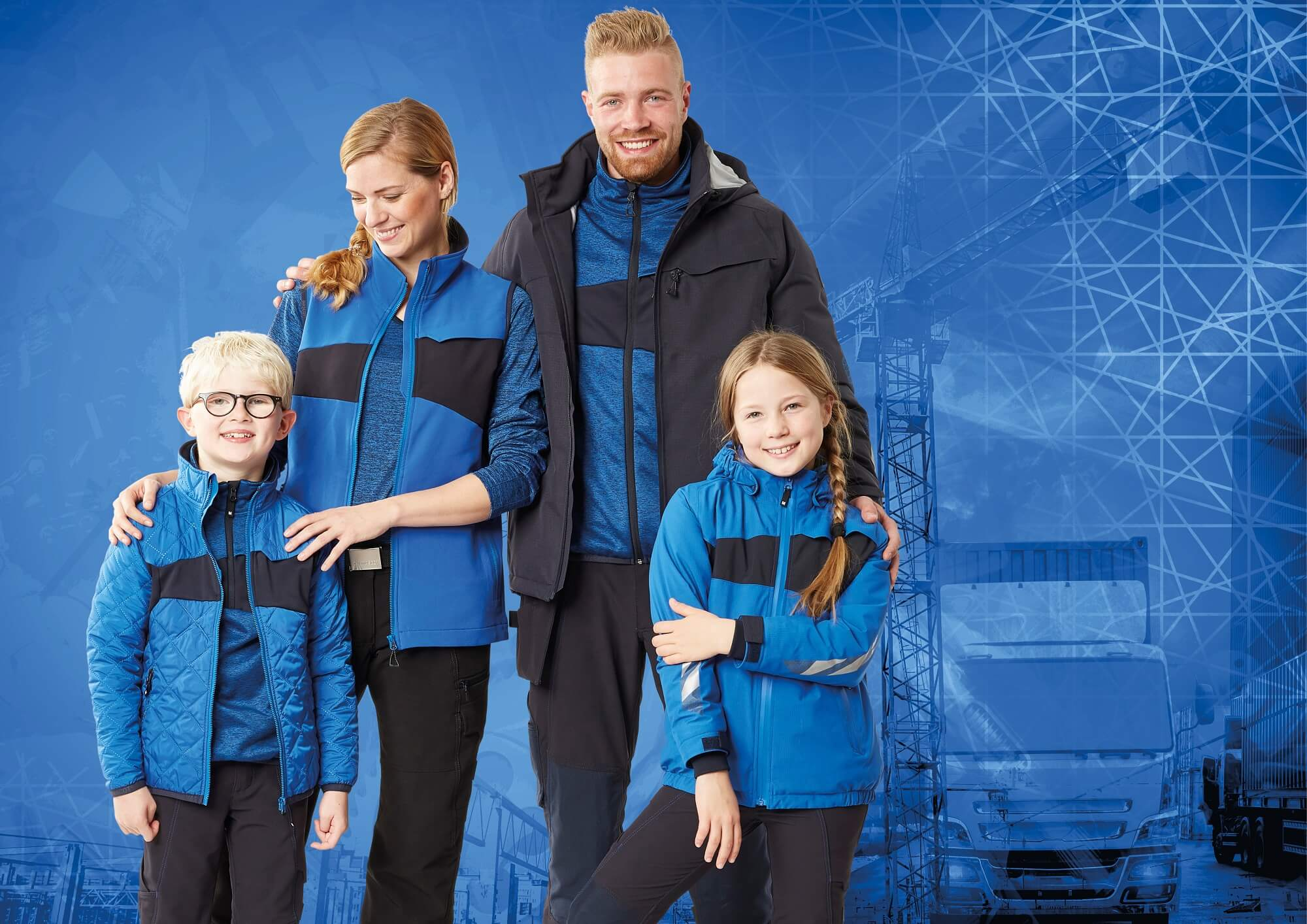 MASCOT® ACCELERATE Ropas - Azul real - Mujer, Hombre & Niños