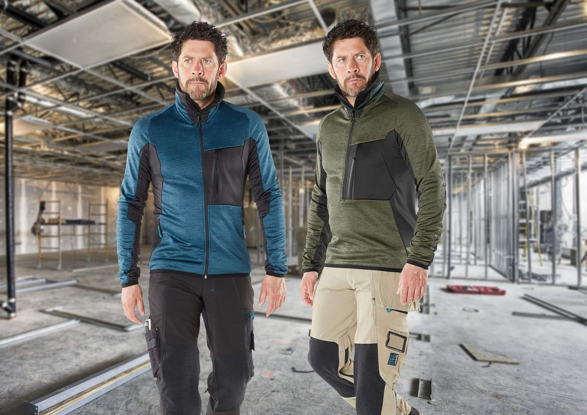 Zipped Jumpers - Hombres - Construction site